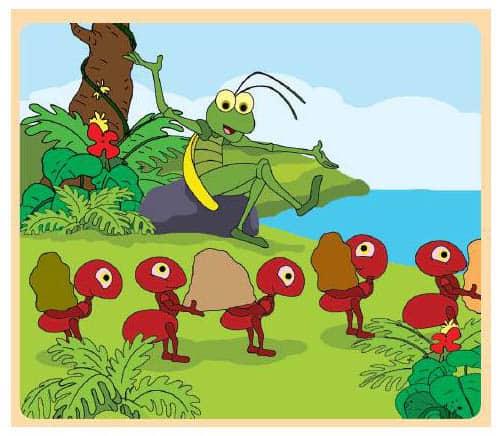 1. Semut Dan Belalang