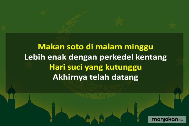 Pantun Menyambut Ramadhan