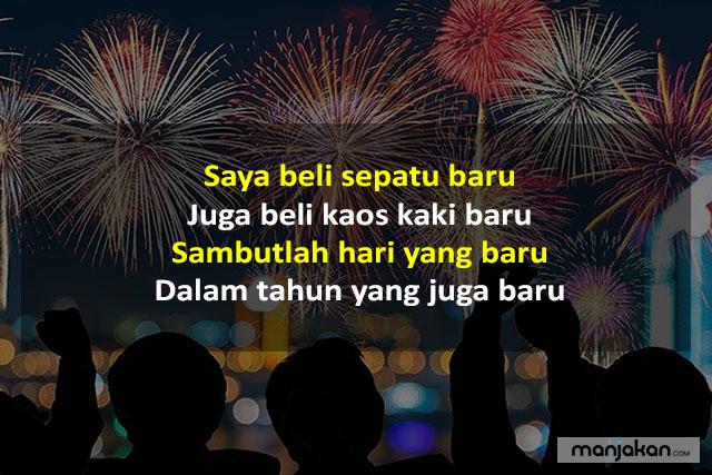 Pantun Menyambut Tahun Baru