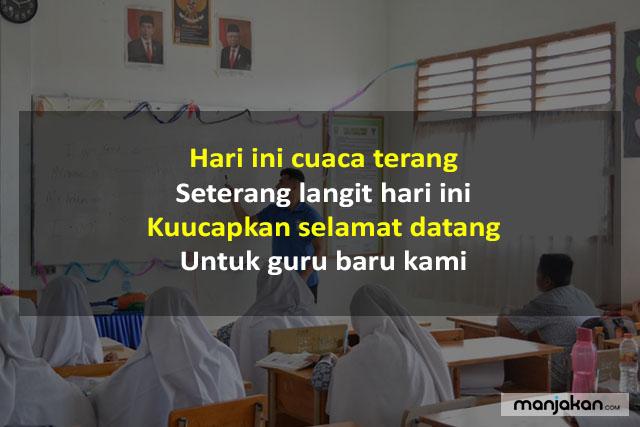Pantun Untuk Guru Baru