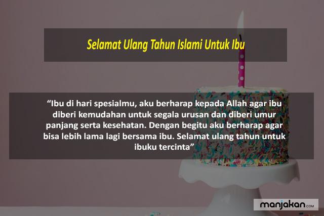 Ulang Tahun Islami Untuk Ibu
