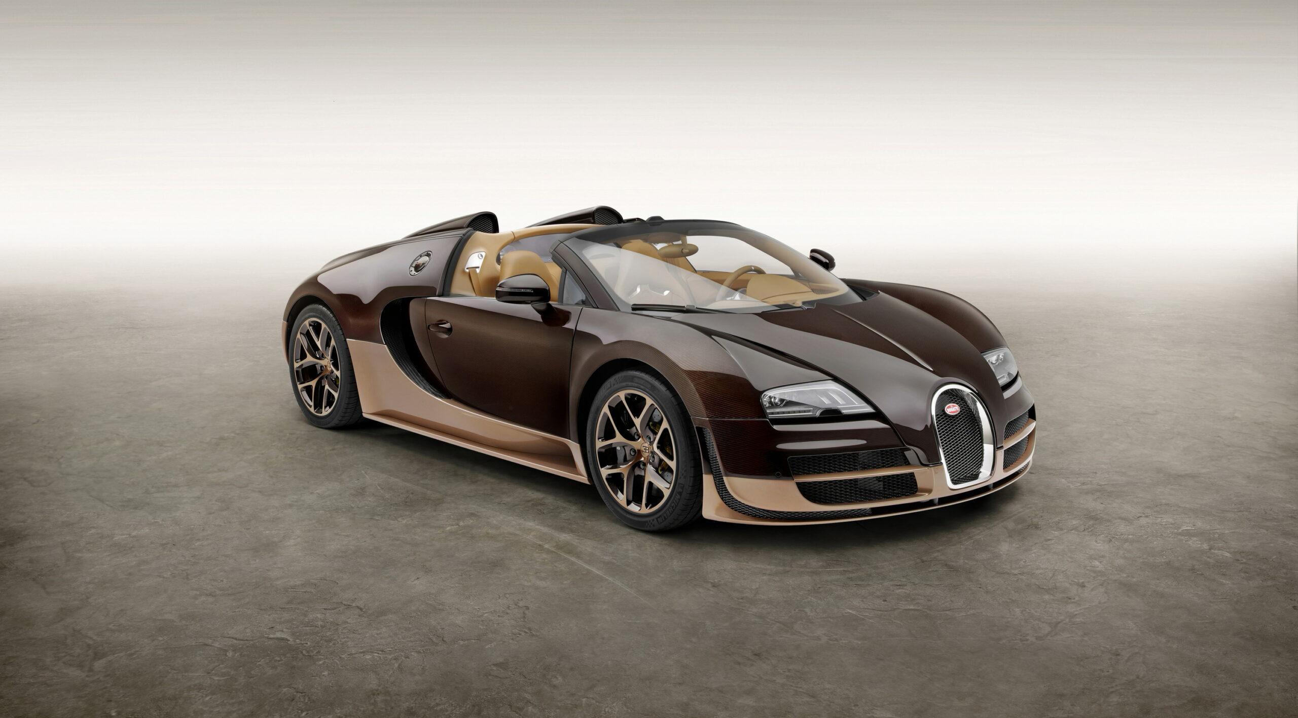 Bugatti Veyron 16.4 Grand Sport Vitesse Model 2014