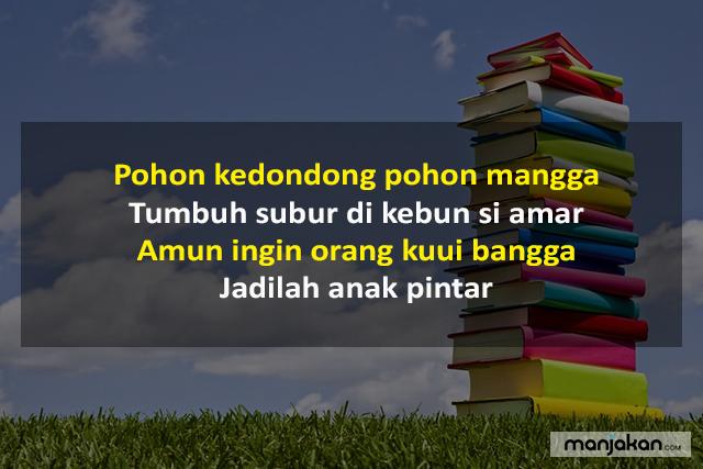 Pantun Bahasa Banjar Pendidikan