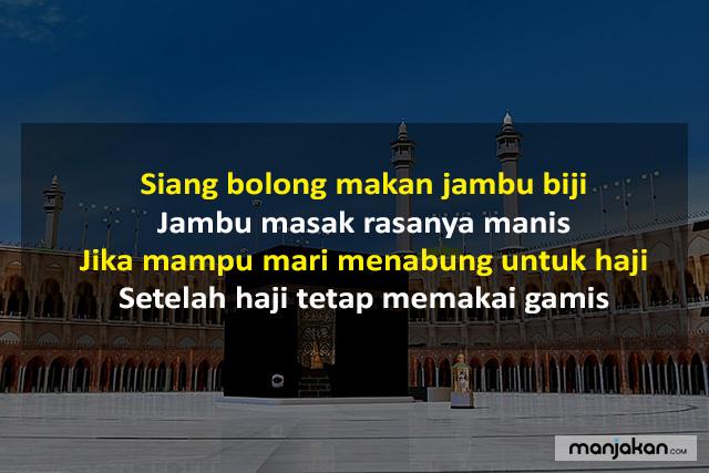 Pantun Islami Tentang Haji