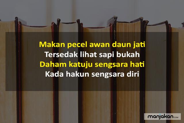 Pantun Nasehat Bahasa Banjar