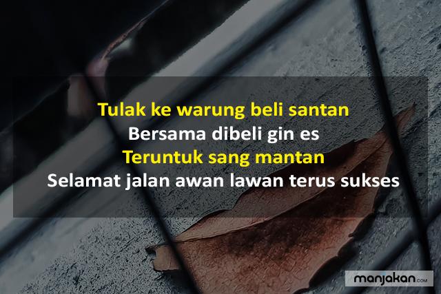 Pantun Perpisahan Bahasa Banjar