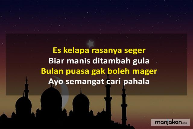 Pantun Ramadhan Saling Mengingatkan Kebaikan