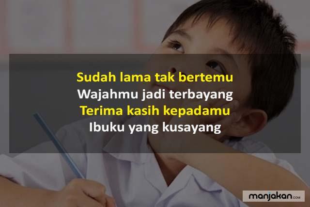 Pantun Terima Kasih Kepada Orang Tua