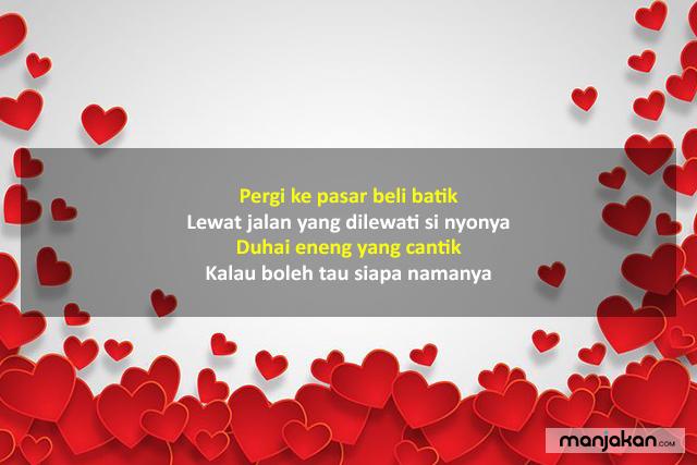 Pantun Betawi Cinta