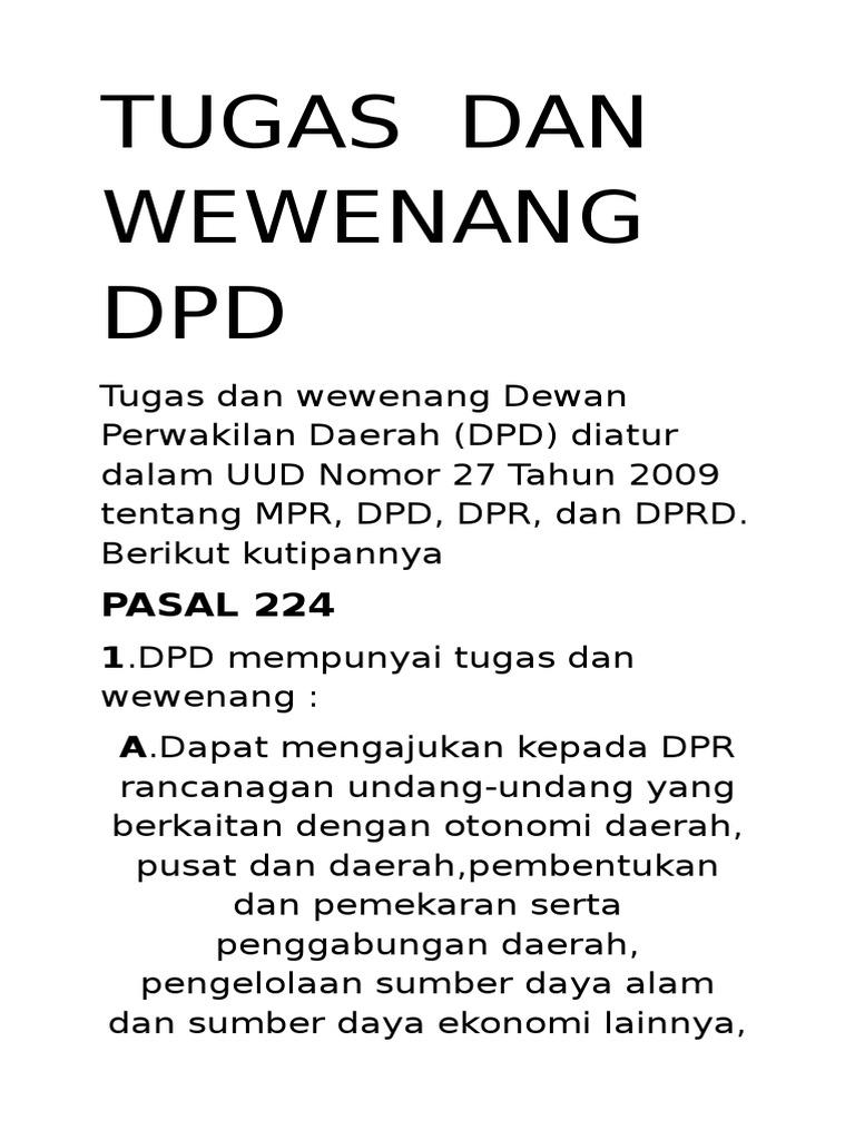 Tugas DPD